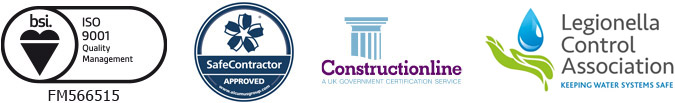 ISO9001 SafeContractor ConstuctionLine Legionella Control Association